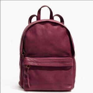 madewell lorimer backpack cabernet BNWT